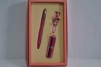 Набор подарочный женский ручка+флешка сиреневый 11013