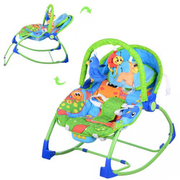 Шезлонг-качалка детский