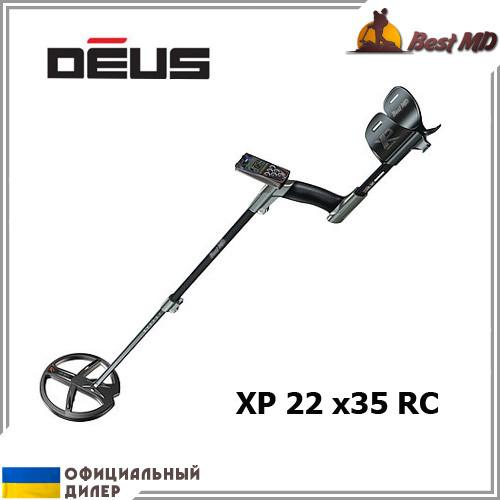 Металлоискатель XP Deus 22 x35 RC