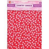 Бумага для декупажа творчества Country garden 2 листа 40*60см 952507