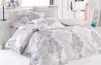Комплект постельного белья Comfort Set Marlin Bej 1,6 с покрывалом Cotton Box