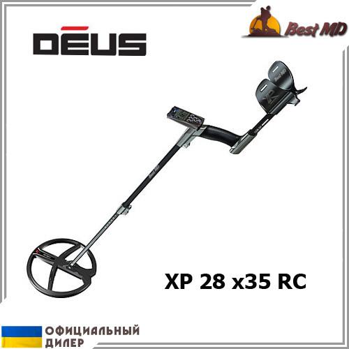 Металлоискатель XP Deus 28 x35 RC