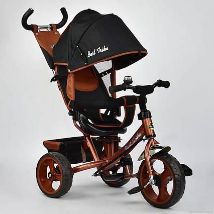 Детский трёхколёсный велосипед 6570 БРОНЗОВЫЙ