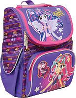 Ранец каркасный школьный 1 Вересня №552775 Equestria Девочки из Эквестрии (34*26*14см) фиолетовый для девочки