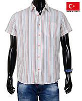 Стильная мужская летняя рубашка из натурального хлопка.