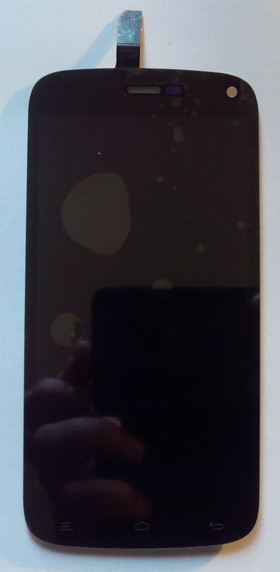 Fly IQ4410 дисплей в зборі з тачскріном модуль чорний