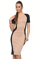 Трикотажное платье, которое визуально стройнит