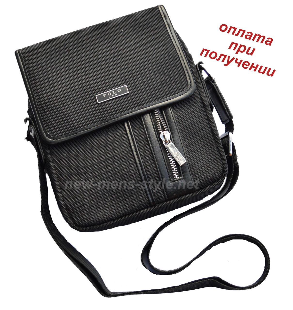 Чоловіча тканинна сумка чоловіча барсетка барсетка POLO ОРИГІНАЛ NEW2