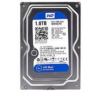 "Жесткий диск для компьютера 3.5"" 1 Тб/Tb Western Digital Blue, SATA3, 64Mb, 5400 rpm (WD10EZRZ), винчестер hdd"