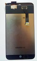 Дисплейний модуль для телефону Meizu MX3 в зборі з тачскріном чорний