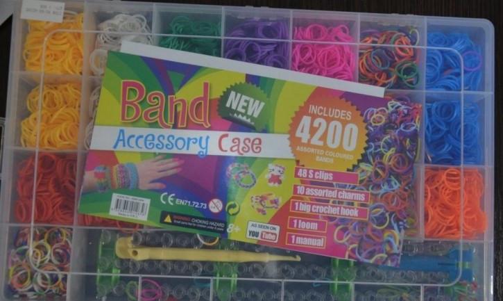Набор Rainbow Loom bands 4200 шт.
