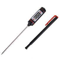 Термометр электронный с датчиком температуры, щупом для жидких сыпучих и других продуктов