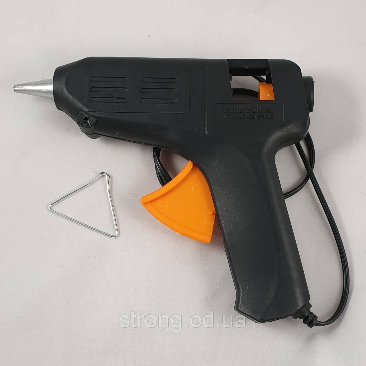 Пистолет Tермоклеевой. 40w стержни 11мм.