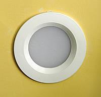 Светодиодный точечный врезной светильник LED 7 w