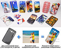 Печать на чехле для LG X135 L60 Dual (Cиликон/TPU)