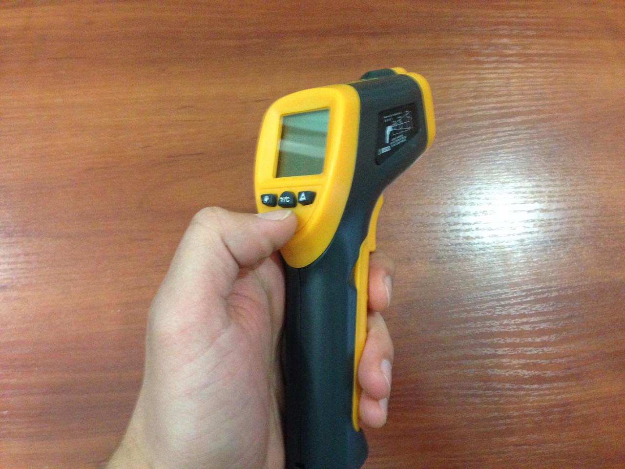 Пирометр (лазерный термометр)