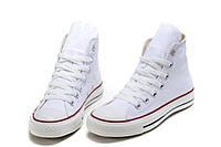Кеды Converse White высокие белые