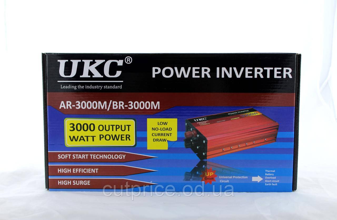 Преобразователь AC/DC AR 3000W 12V (10) в уп. 10шт.