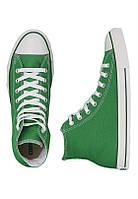 Кеды Converse Green высокие зеленые