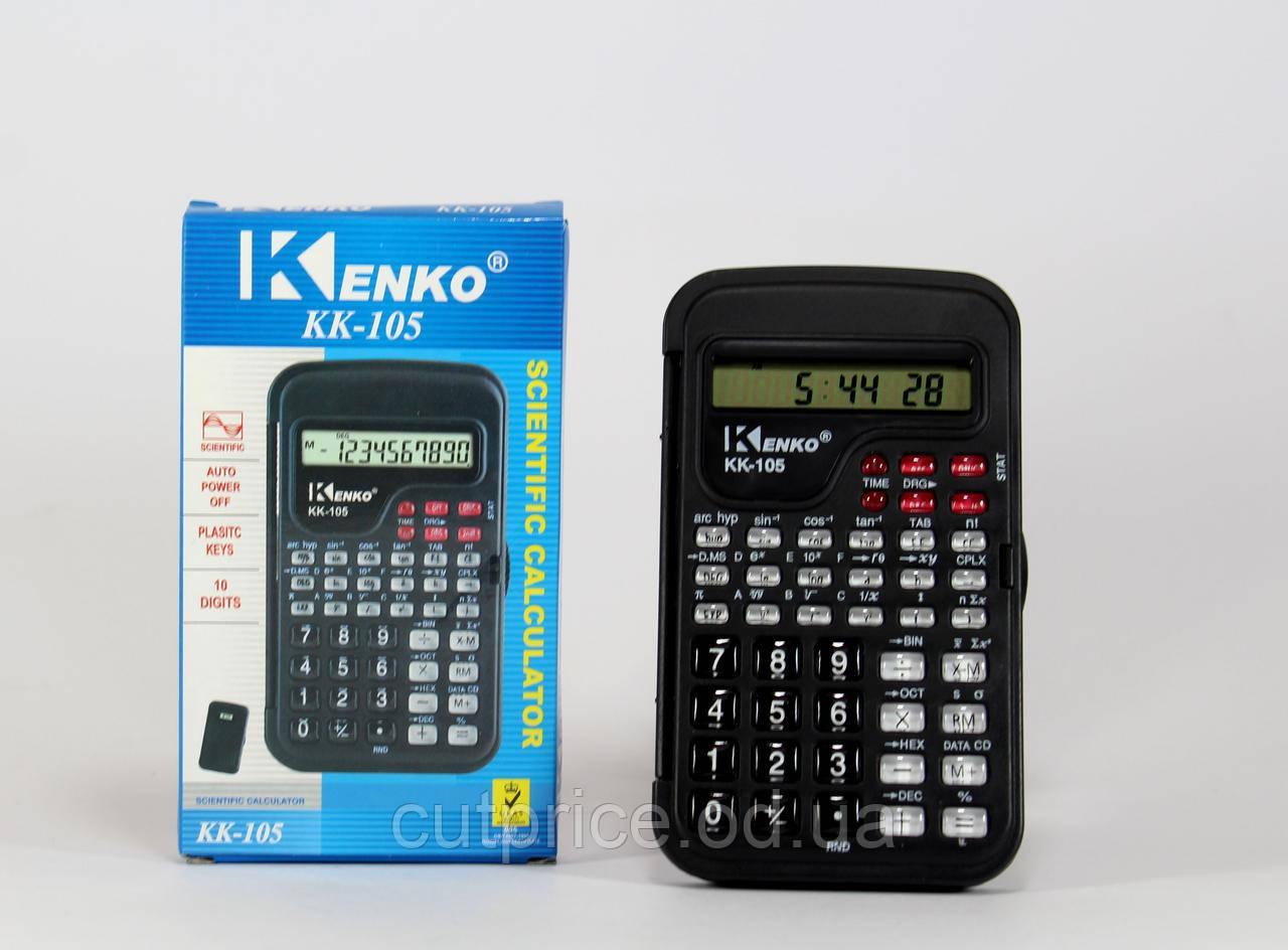 Калькулятор KK 105 инженерный (300) в уп.150 шт.