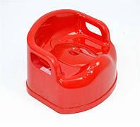 Горшок детский SL с крышкой красный