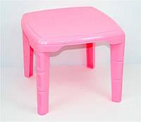 """Стол детский квадратный - цвет розовый """"K-PLAST"""""""