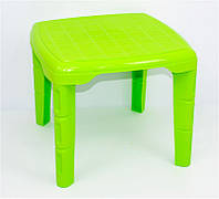 """Стол детский квадратный - цвет салатовый """"K-PLAST"""""""