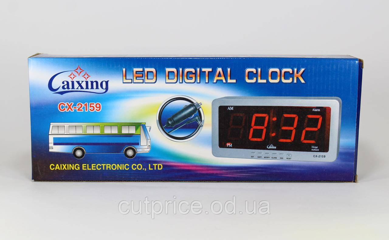 Часы CX 2159 зеленые (40) в уп. 40шт.