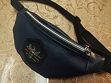 Бананка поясная сумка/ сумка на пояс женская Гуччи.