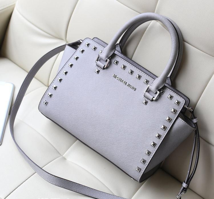 Michael Kors Selma Studded Gray