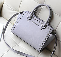 Michael Kors Selma Studded Gray, фото 1