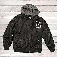 Куртка-ветровка Glo-story для мальчика от 5 до 9 лет черная