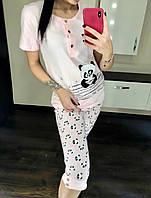 Пижама женская с бриджами, фото 1