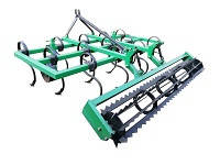 Новый пружинный культиватор для трактора и минитрактора КН — 1,8П с грудобоем