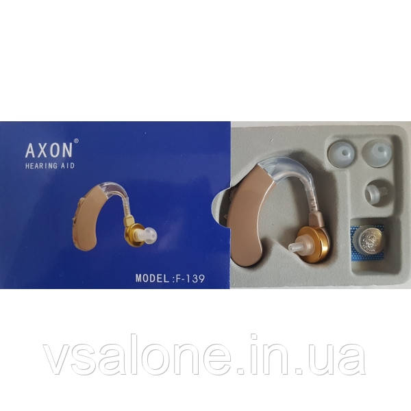 Заушный слуховой аппарат Axon F-139