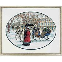 Набор для вышивки крестом «Зимние впечатления» • «Winter Impressions» DIMENSIONS Gold Collection