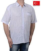 Легкая летняя мужская рубашка короткий рукав.