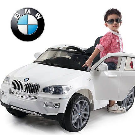 Купить детский электромобиль BMW X6, дитячий електромобіль бмв, електромобиль JJ 258, фото 2