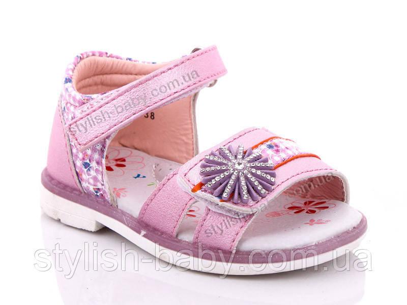 Детская летняя обувь оптом. Детские босоножки бренда Y.TOP для девочек (рр. с 21 по 26)