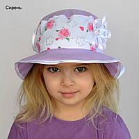 Детская летняя шапочка Панамка Моника. р. 48-50 (2-3 года) и 50-52 (3-4 года).