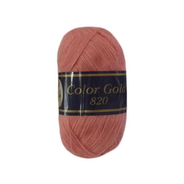 Color Gold ( 51% акрил 49% шерсть 820 м )
