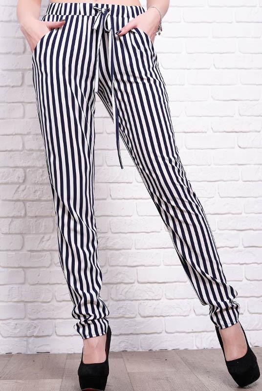 Женские брюки Радмила в полоску