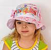 Детская летняя шапочка Панамка Принцесса. Винкс. р. 50-52 и 52-54 розовые, темно-розовые. р.50-52 белые
