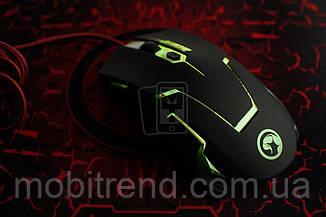 Новая мышь мышка игровая с подсветкой Marvo M310 USB с подсветкой
