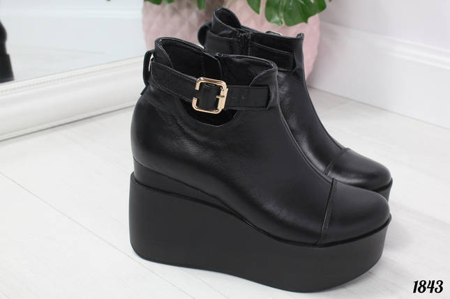 Ботинки кожаные, фото 2