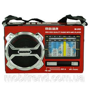 Радиоприемник MP3 плеер + фонарик Meier M-U02