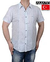Рубашки мужские летние большого размера.