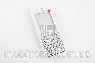 Корпус Nokia 206 белый, полный комплект, ААА качество