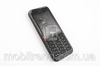 Корпус Nokia 215 чёрный, полный комплект, ААА качество