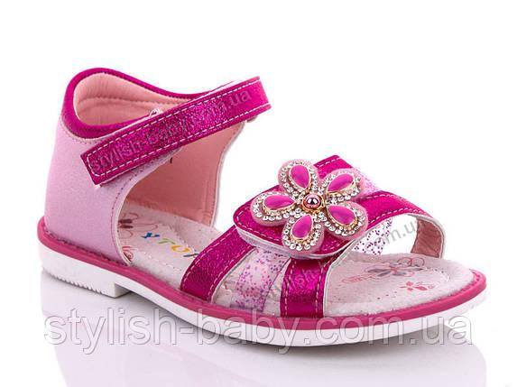 Детская летняя обувь оптом. Детские босоножки бренда Y.TOP для девочек (рр. с 26 по 31), фото 2